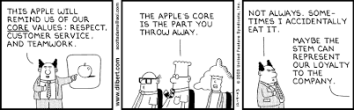 Dilbert Core Values
